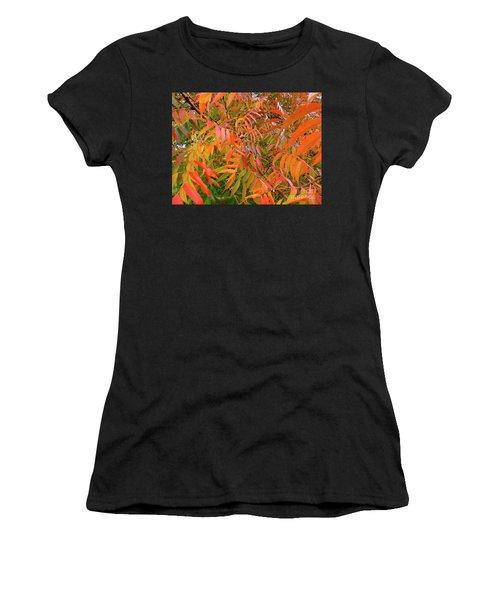 Autumn Color Women's T-Shirt (Athletic Fit)