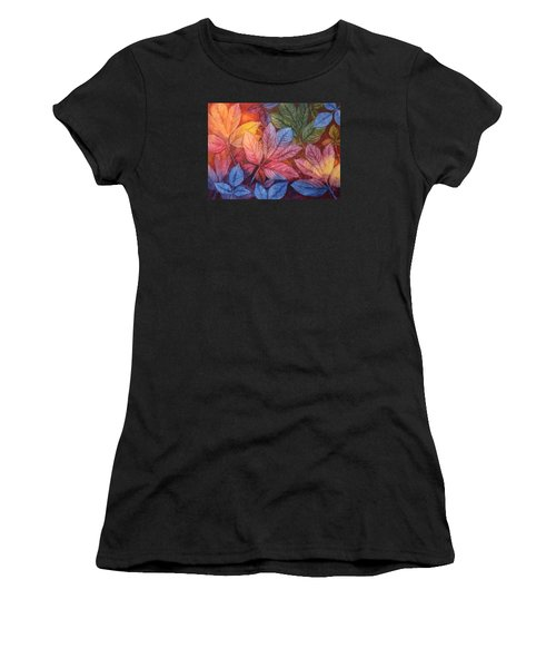 Autumn Color Women's T-Shirt (Athletic Fit)
