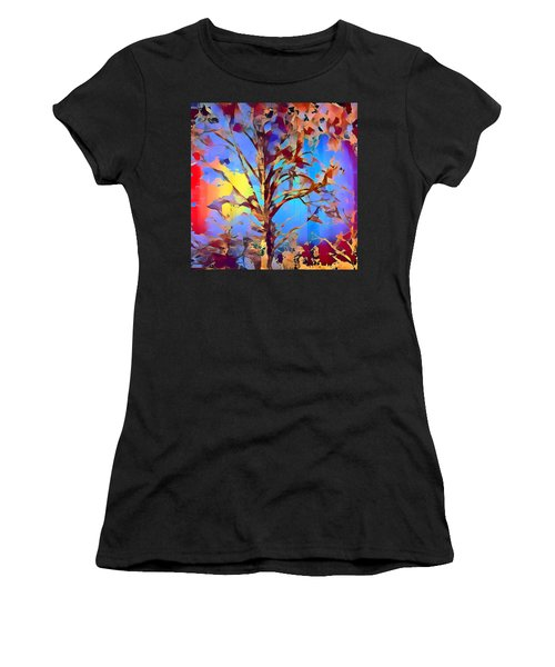 Autumn Day Women's T-Shirt (Athletic Fit)