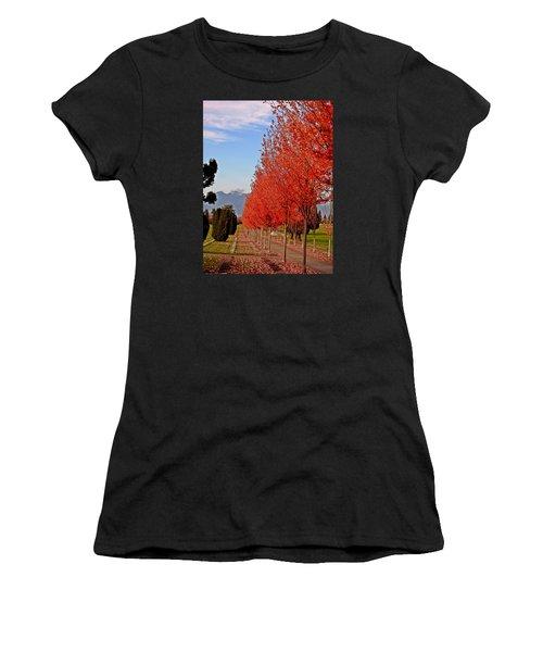 Autumn Delight, Vancouver Women's T-Shirt (Athletic Fit)