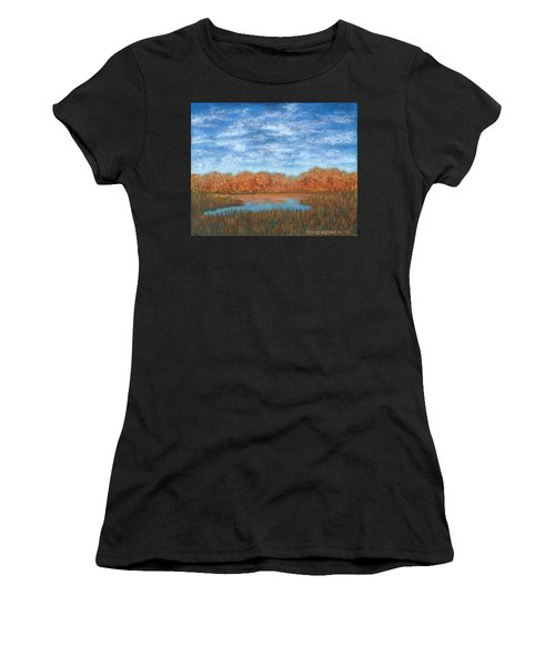 Autumn Field 01 Women's T-Shirt (Athletic Fit)