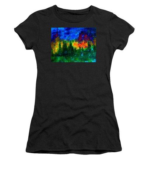 Autumn Fires Women's T-Shirt