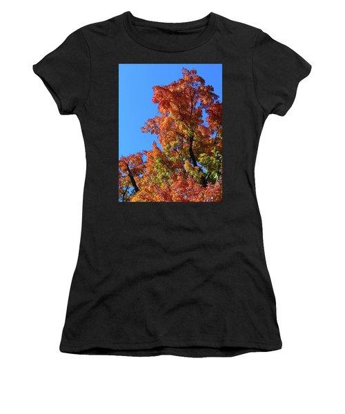Autumn Foliage Women's T-Shirt (Athletic Fit)