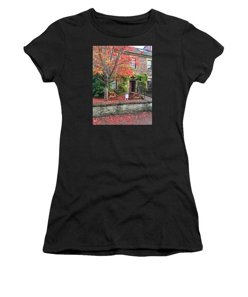 Autumn In Dunblane Women's T-Shirt (Athletic Fit)