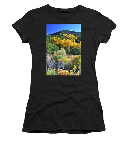 Autumn In The Canyon Women's T-Shirt (Athletic Fit)