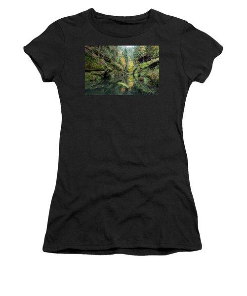 Autumn In The Kamnitz Gorge Women's T-Shirt