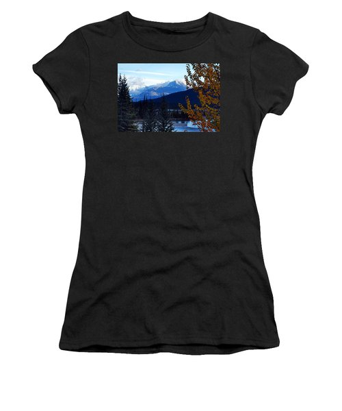 Autumn In The Mountains Women's T-Shirt