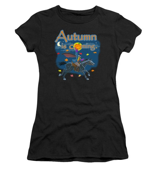 Autumn Is Coming Women's T-Shirt