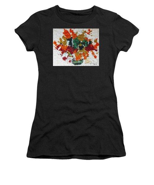 Autumn Leaves Plant Women's T-Shirt