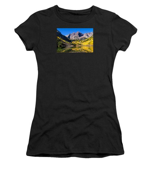 Autumn Morning At The Maroon Bells Women's T-Shirt