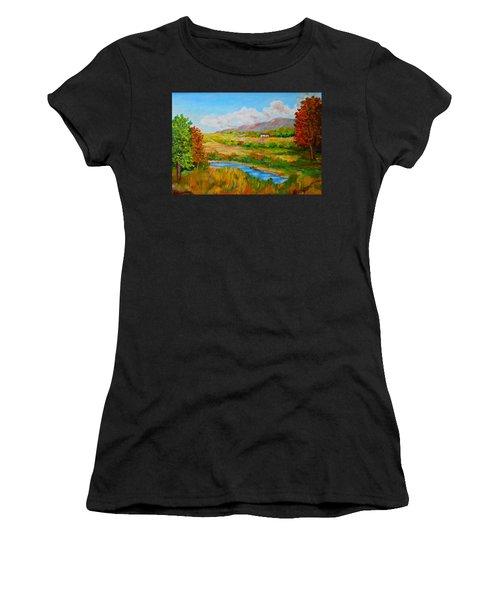 Autumn Nature Women's T-Shirt (Athletic Fit)