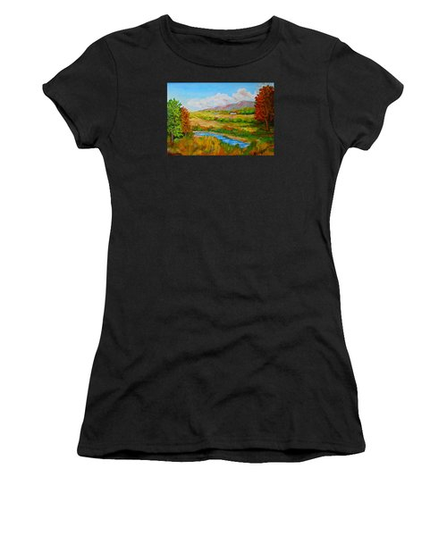 Autumn Nature Women's T-Shirt (Athletic Fit)
