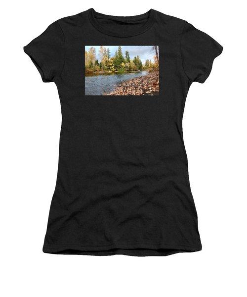 Autumn On The Molalla Women's T-Shirt