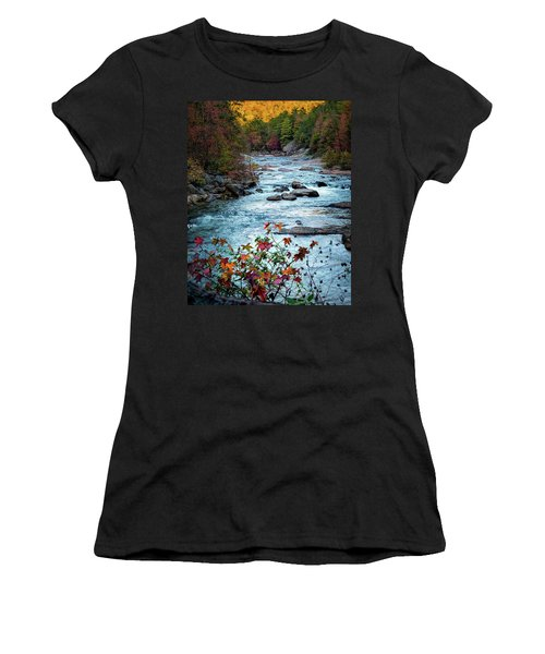 Autumn On Wilson Creek Women's T-Shirt