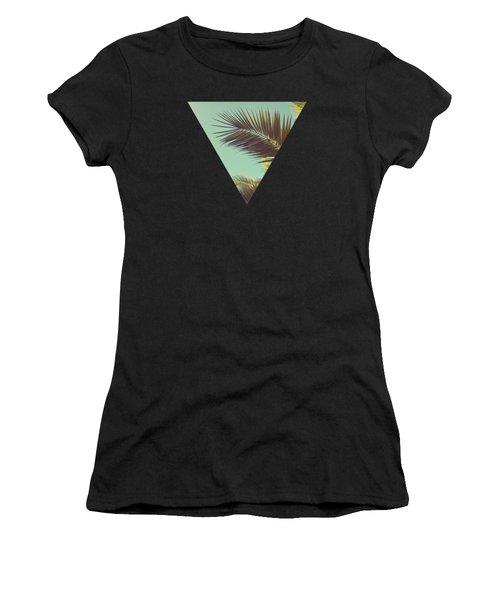 Autumn Palms Women's T-Shirt (Athletic Fit)