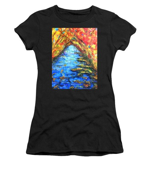 Autumn Reflections 2 Women's T-Shirt (Athletic Fit)