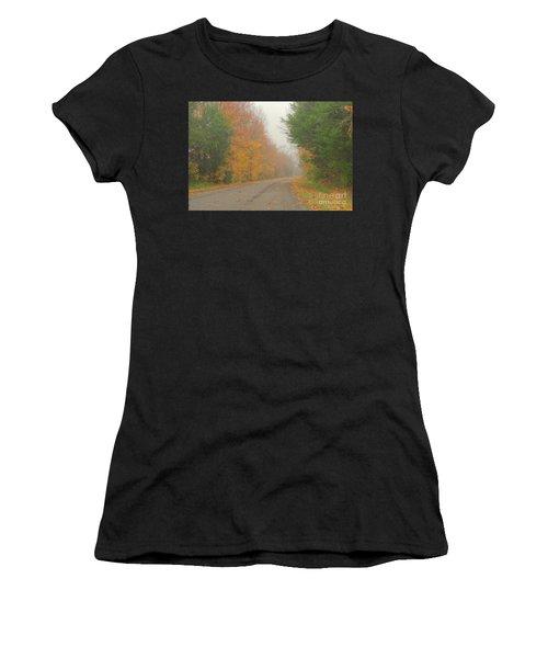 Autumn Roads Women's T-Shirt