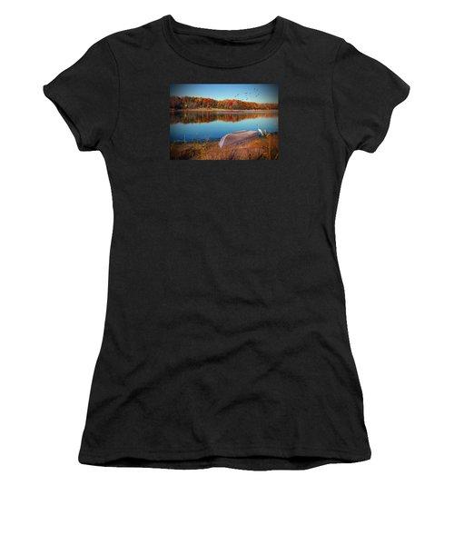Autumn Serenade Women's T-Shirt (Athletic Fit)