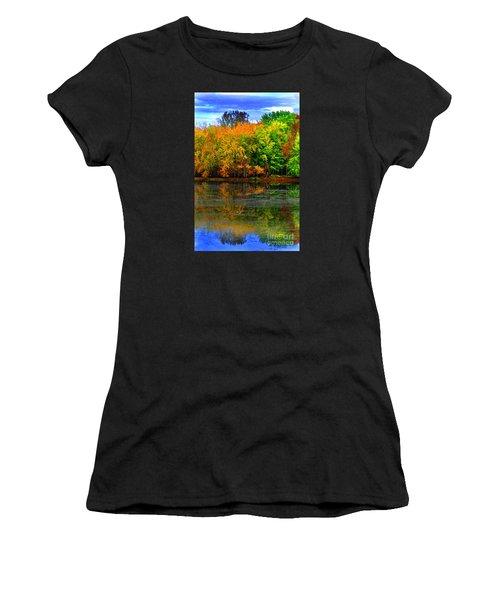 Autumn Sings Women's T-Shirt (Athletic Fit)