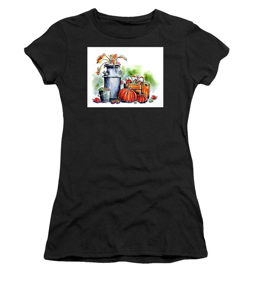 Autumn Still Life 1 Women's T-Shirt (Athletic Fit)