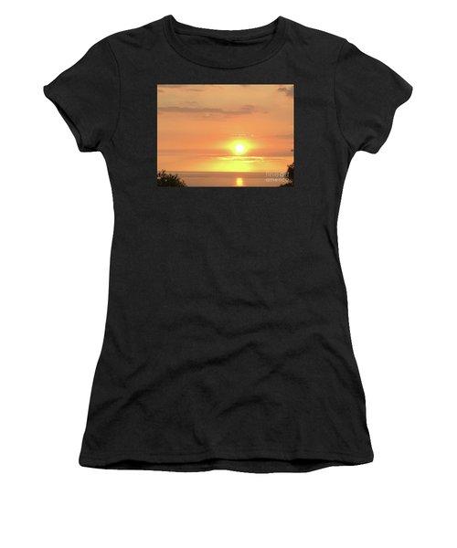 Autumn Sunset Women's T-Shirt (Athletic Fit)