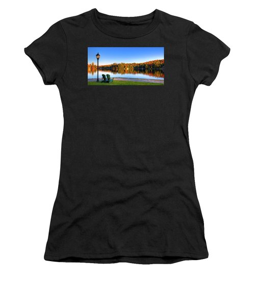 Autumn View For Two Women's T-Shirt