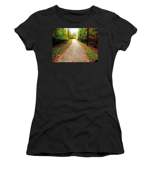 Autumn Walk Women's T-Shirt