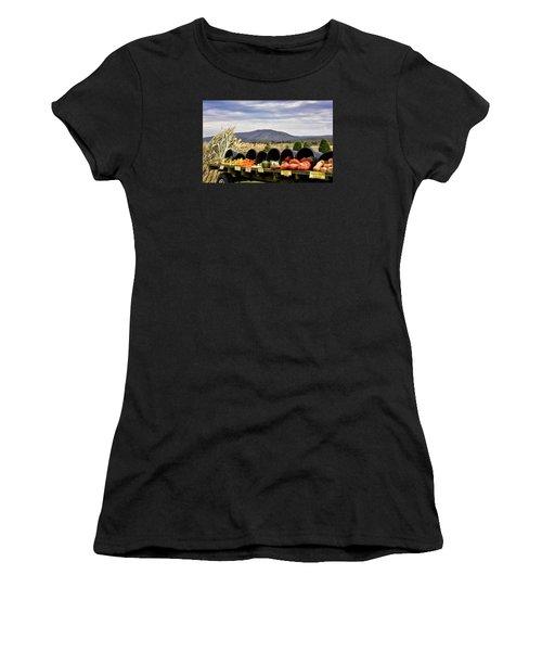 Autumnal Abundance In The Blue Ridge Mountains - Virginia Women's T-Shirt (Junior Cut) by Brendan Reals