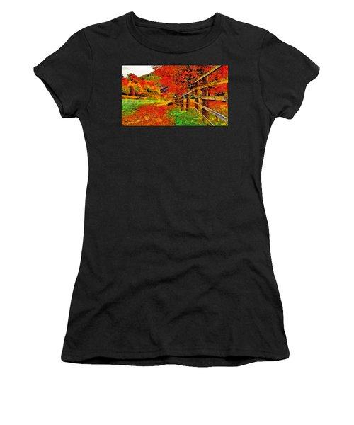 Autumnal Blaze Of Glory Women's T-Shirt