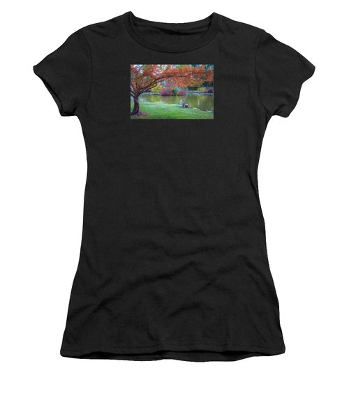 Autumn's Embrace Women's T-Shirt