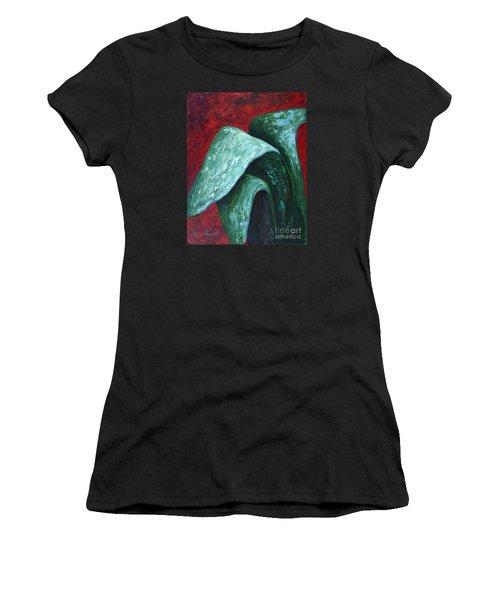 Av Leaves Women's T-Shirt (Athletic Fit)