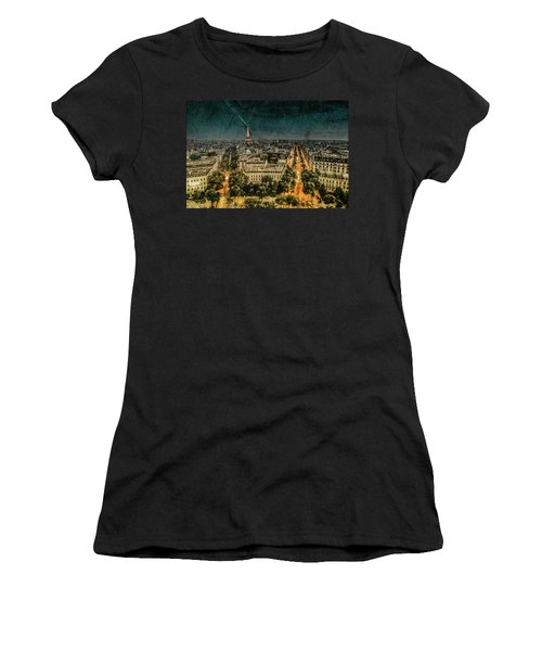 Paris, France - Avenue Kleber Women's T-Shirt