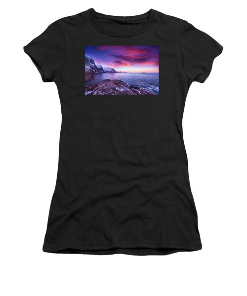 Away From Today Women's T-Shirt (Athletic Fit)