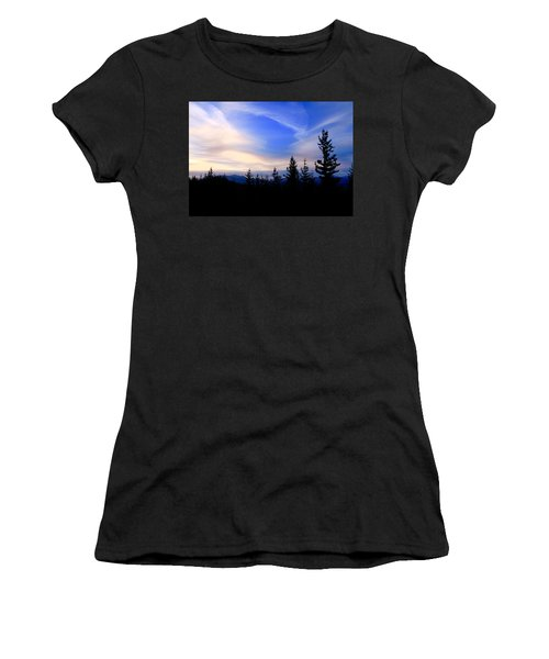 Awesome Sky Women's T-Shirt (Athletic Fit)