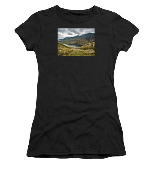Awesome Hike Women's T-Shirt (Athletic Fit)