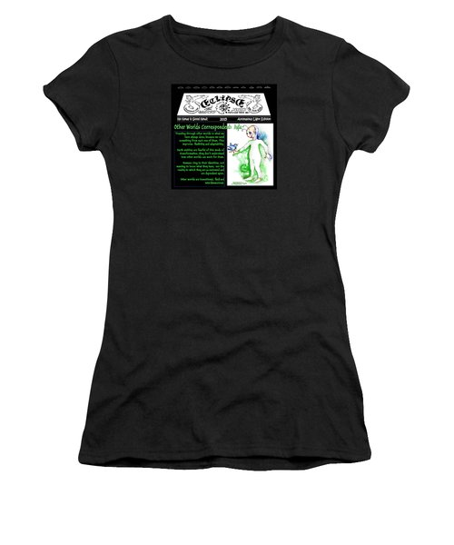 Real Fake News Alien Correspondent 1 Women's T-Shirt