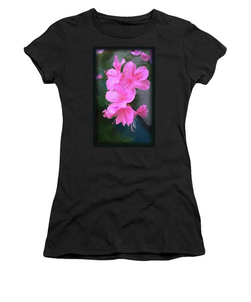 Azalea Spray Women's T-Shirt (Athletic Fit)