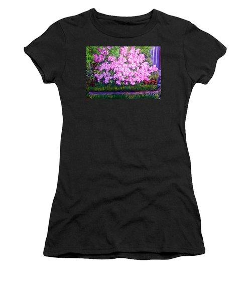 Azalea Spring Women's T-Shirt (Athletic Fit)