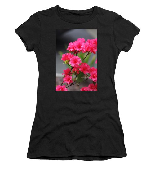 Azalea Women's T-Shirt (Junior Cut) by Vadim Levin