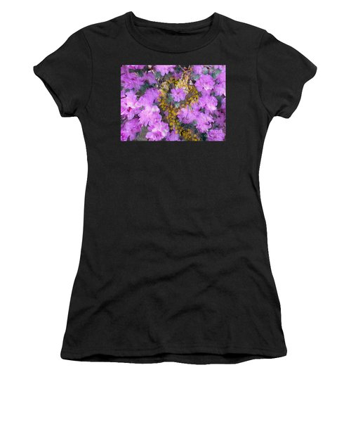 Azaleas Women's T-Shirt (Athletic Fit)