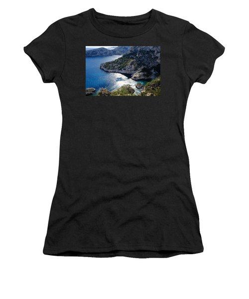 Azure Calanques Women's T-Shirt