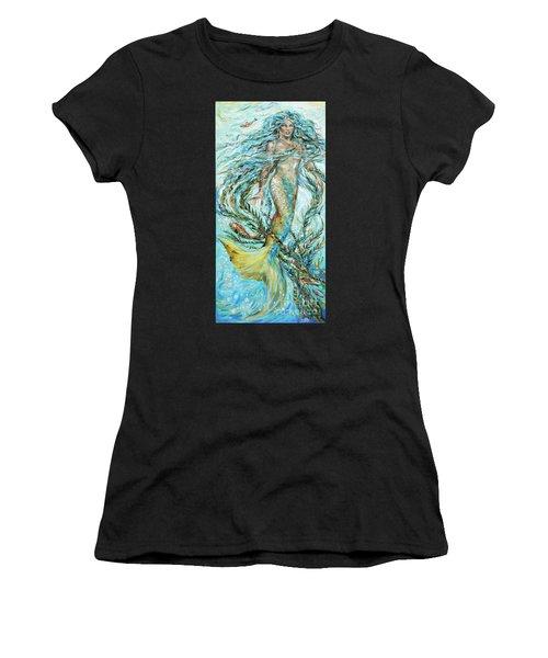 Azure Locks Women's T-Shirt