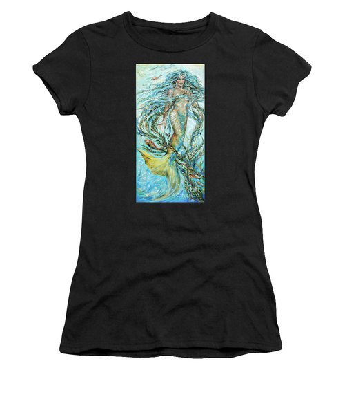Azure Locks Women's T-Shirt