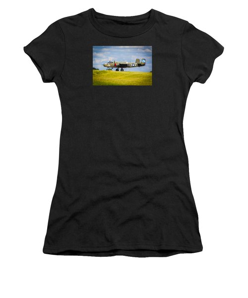 B-25 Landing Original Women's T-Shirt