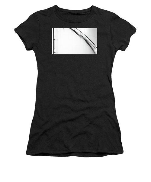 B And W Stairs Women's T-Shirt