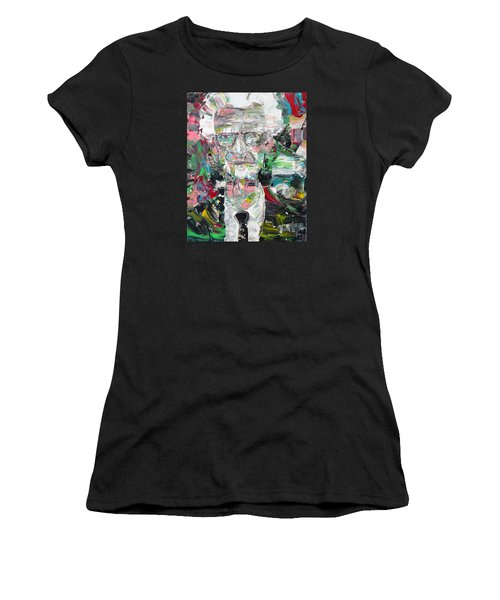 B. F. Skinner Portrait Women's T-Shirt (Athletic Fit)