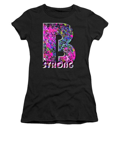 B Strong Women's T-Shirt (Athletic Fit)