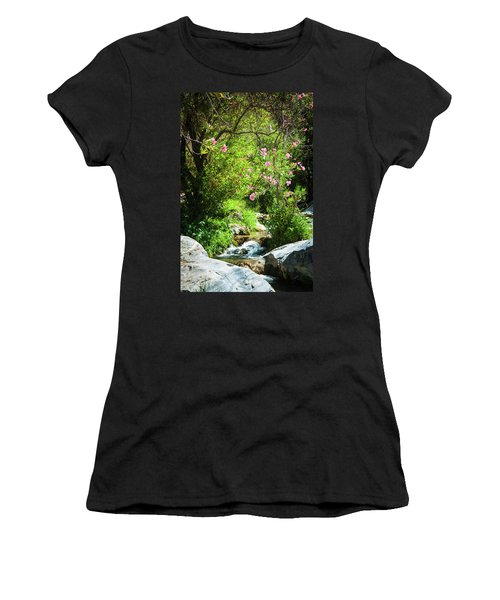 Babbling Brook Women's T-Shirt (Athletic Fit)