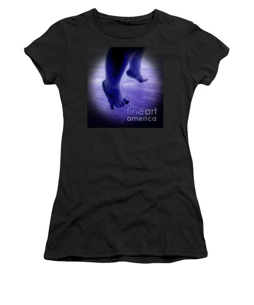 Baby Blu Dancing Royal Feet Women's T-Shirt (Athletic Fit)