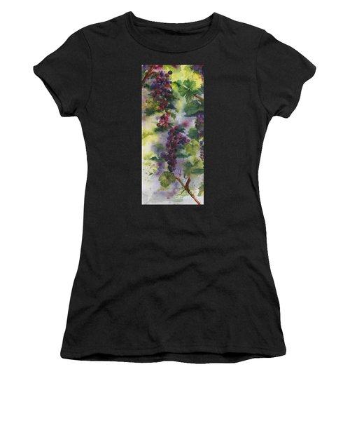 Baby Cabernet I  Triptych  Women's T-Shirt